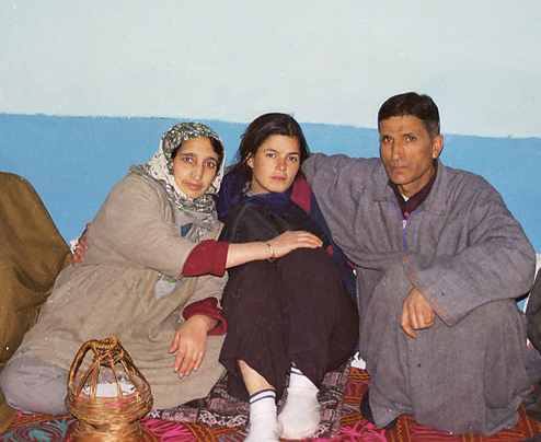My Hosting family, Great Great people, the Khans. Srinagar, Kashmir 2000/2001