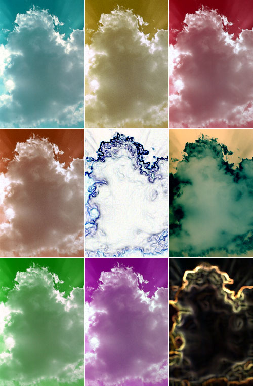 Variation on cloud picture I took